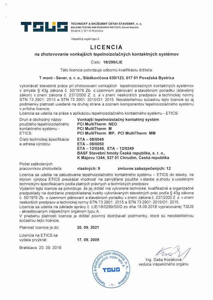 TSUS Licencia BASF